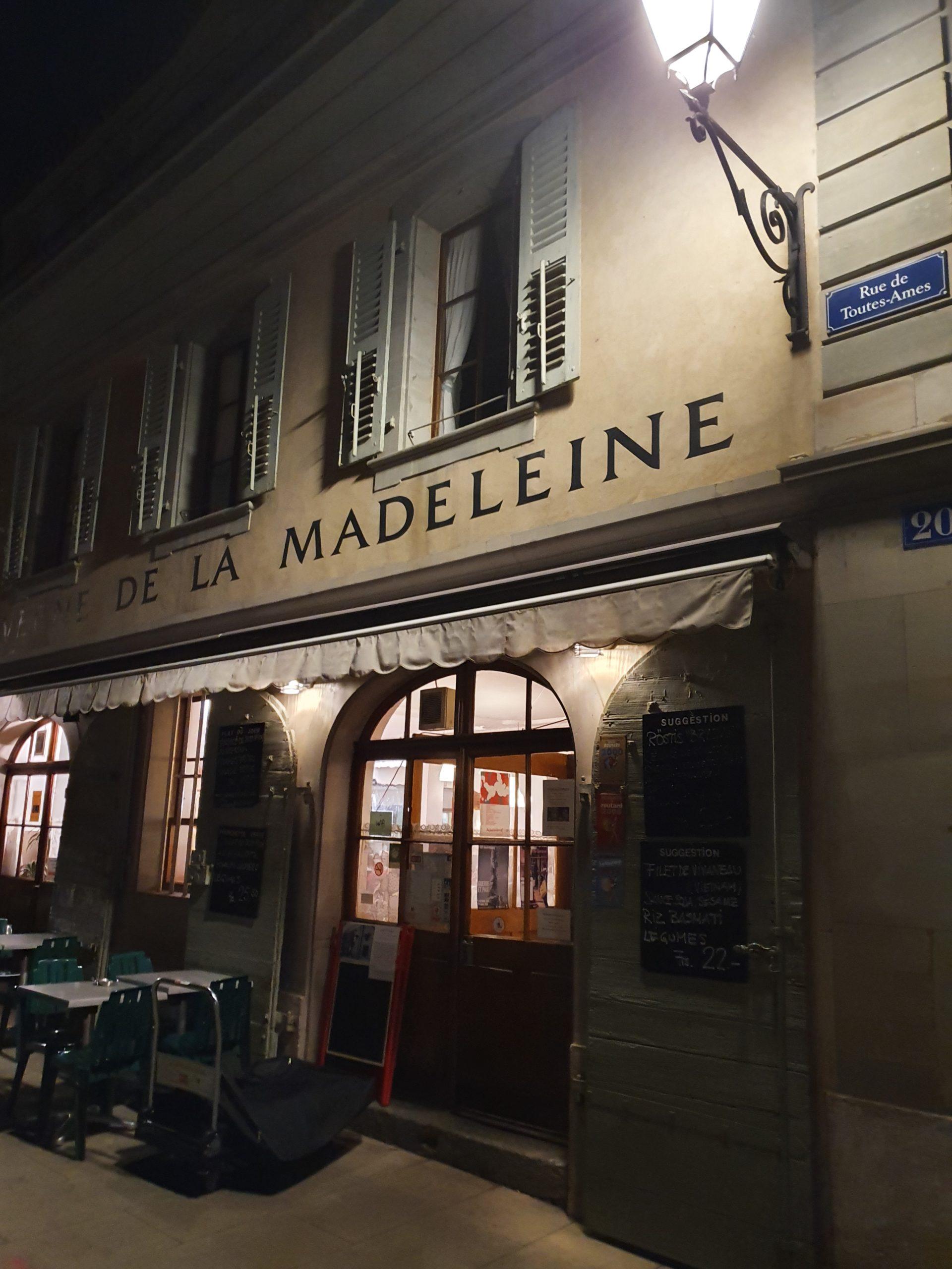 Taverne de la Madeleine